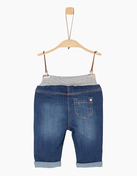 s.Oliver Baby Girls Jeans mit Umschlagbund   [ADLER Mode]