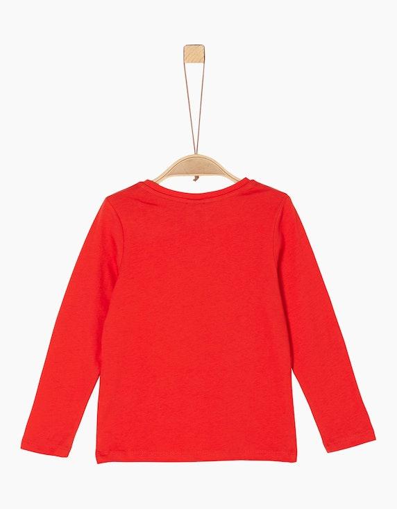 s.Oliver Mini Girls Langarm-Shirt mit Pailletten   [ADLER Mode]