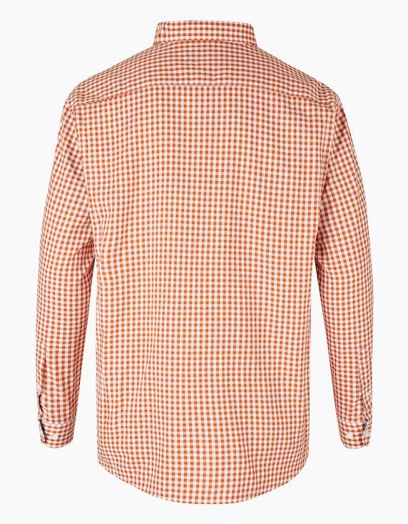 Big Fashion Hemd mit Vichy-Karo und Button-Down | [ADLER Mode]