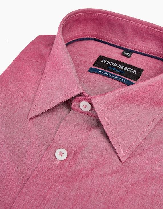 Bernd Berger Dresshemd mit schimmerndem Effekt, REGULAR FIT | [ADLER Mode]