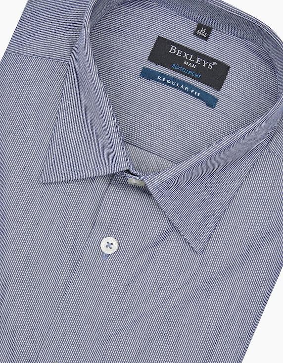 Bexleys man Dresshemd mit Fineliner-Streifen | [ADLER Mode]