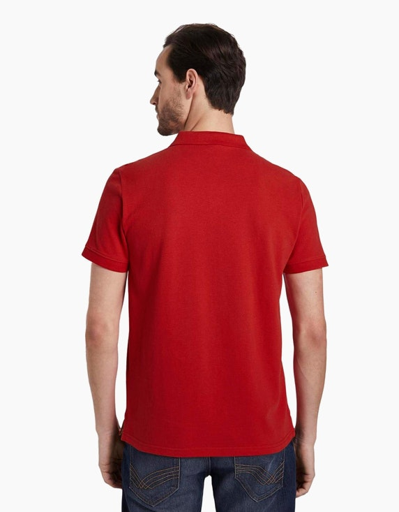 Tom Tailor Poloshirt im Basic-Style mit verschiedenen Farbdetails   [ADLER Mode]