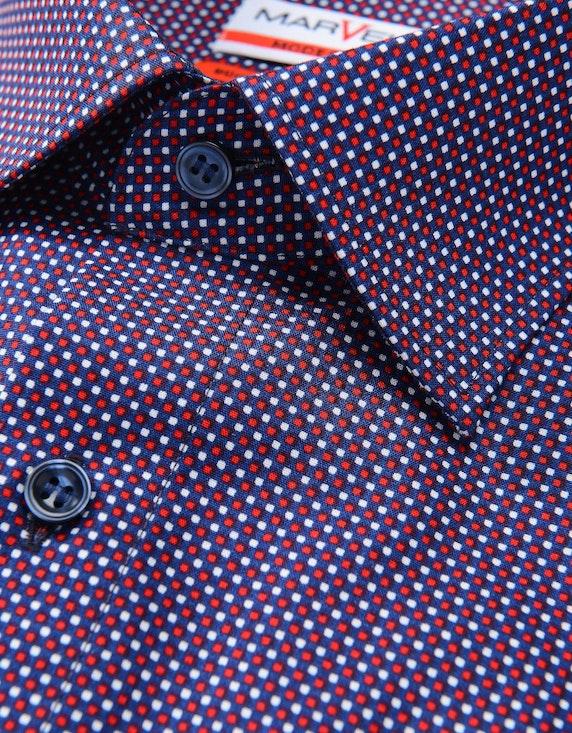 Marvelis Dresshemd, langarm, gemustert, MODERN FIT | [ADLER Mode]