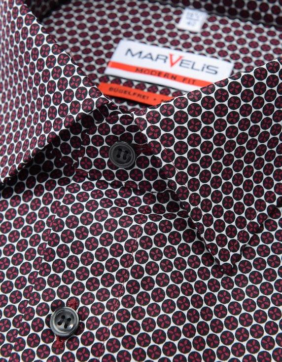 Marvelis Businesshemd, langarm, gemustert, MODERN FIT | [ADLER Mode]