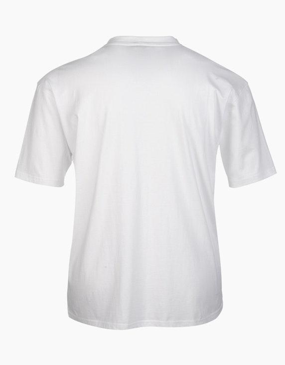 Big Fashion Basic T-Shirt V-Ausschnitt | [ADLER Mode]