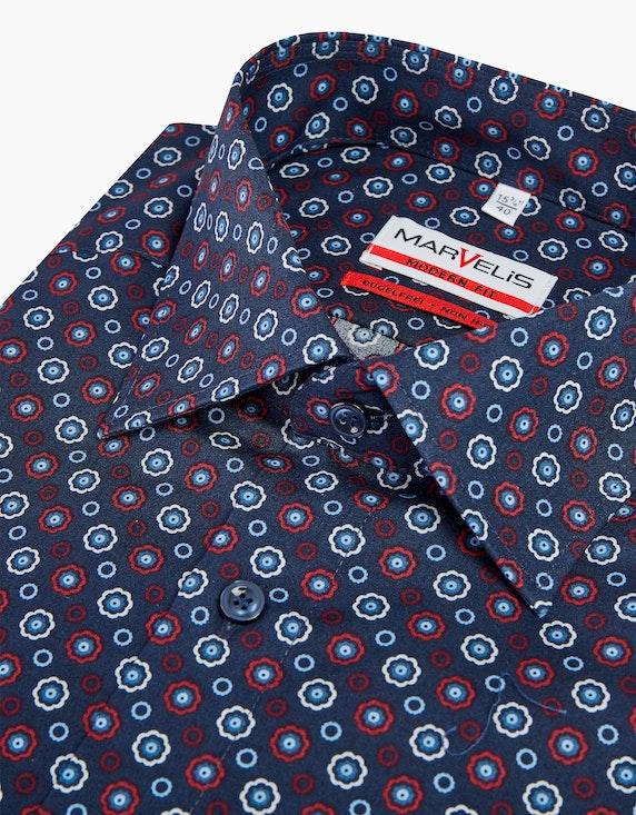 Marvelis Gemustertes Dresshemd, MODERN FIT | [ADLER Mode]