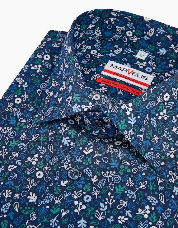Marvelis Dresshemd mit floralem Druck, MODERN FIT | [ADLER Mode]