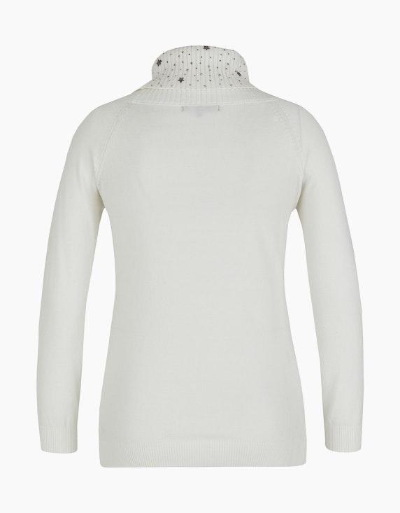 MY OWN Rollkragen-Pullover mit Dekosteinen- und Sternen | [ADLER Mode]