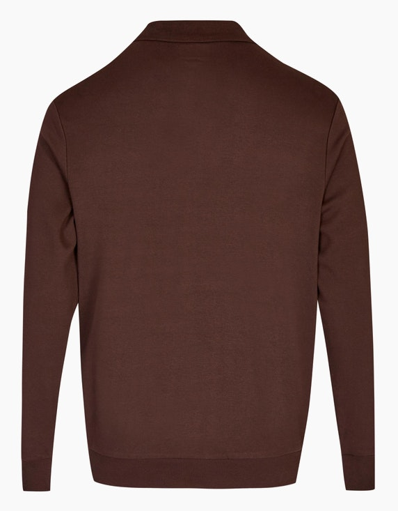 Bexleys man Polo-Sweatshirt aus Pima-Cotton | [ADLER Mode]
