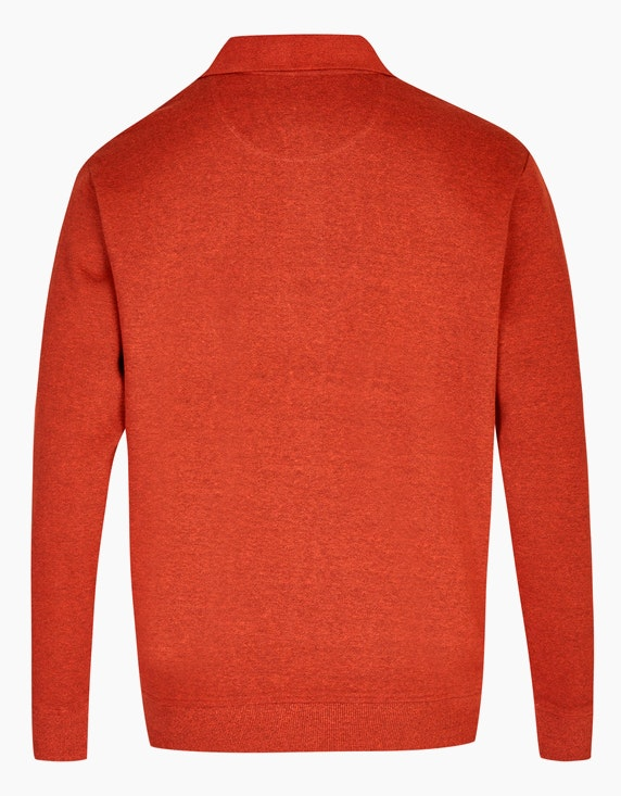 Bexleys man Polo-Sweatshirt mit Brusttasche | [ADLER Mode]
