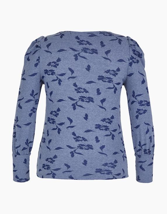 MY OWN Shirt mit Ripp-Struktur und Puffärmeln | [ADLER Mode]