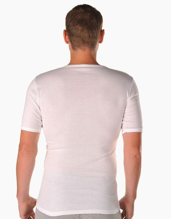 Senator Feinripp-Shirt, kurzarm 2er Pack | [ADLER Mode]