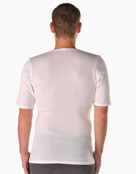 Senator Doppelripp-Shirt, kurzarm 2er Pack | [ADLER Mode]