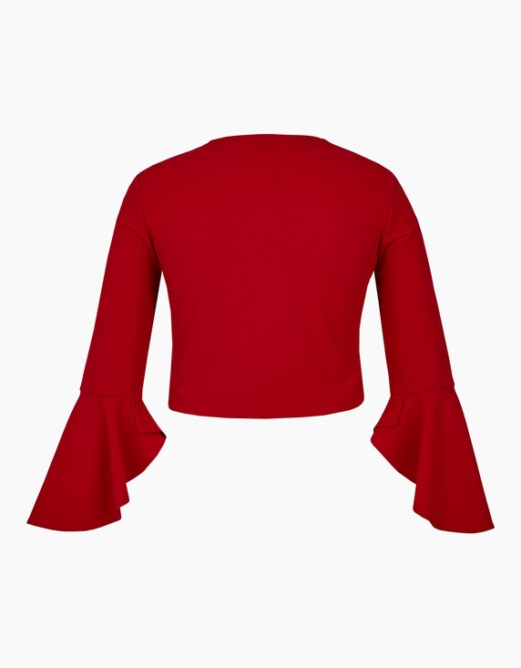 Bexleys woman Kleiderjacke mit Volantärmel   [ADLER Mode]