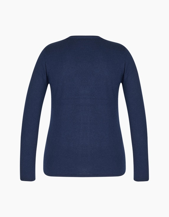 Bexleys woman Merino Strickjacke mit Rautenmuster | [ADLER Mode]