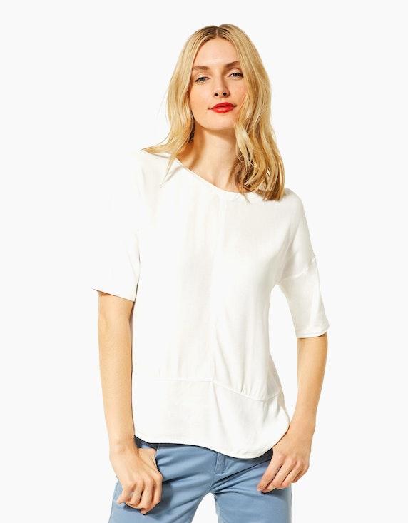 Street One legeres Shirt im Materialmix   [ADLER Mode]