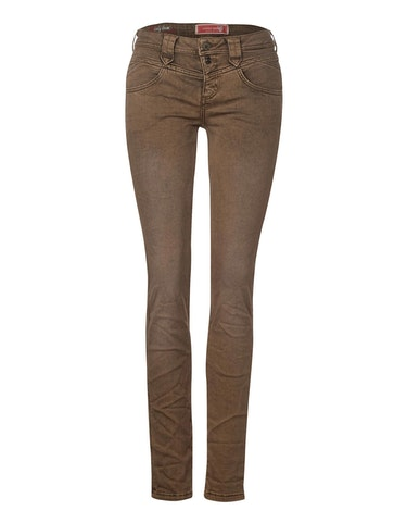 Hosen - Colour Denim Jeans, Casual Fit, 28 32  - Onlineshop Adler