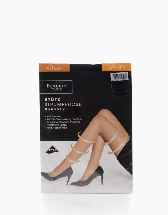 Bexleys woman Stützstrumpfhose 40 DEN | [ADLER Mode]