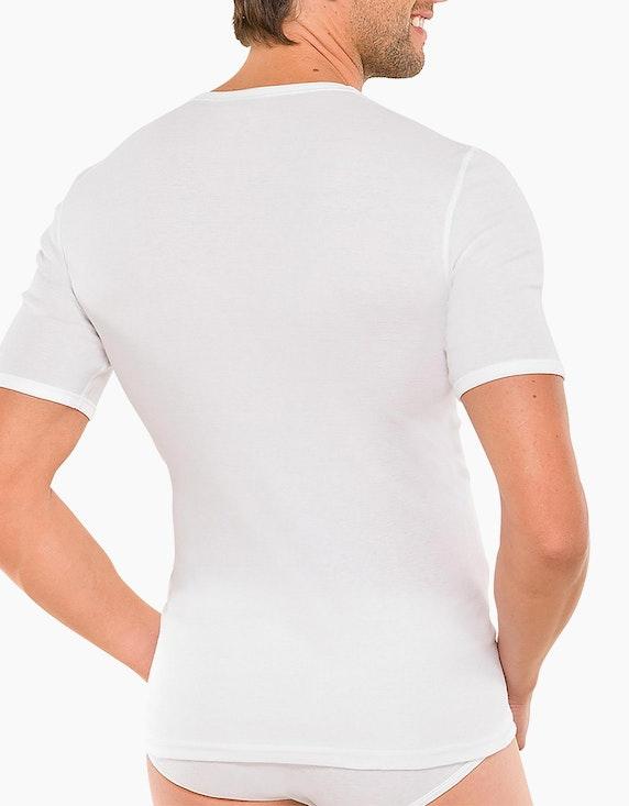Schiesser Shirt kurzarm - Essentials Feinripp   [ADLER Mode]