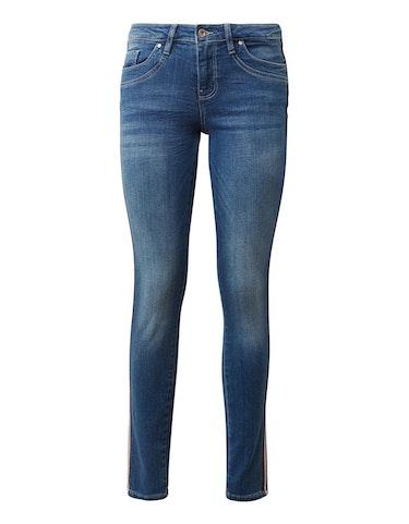 Hosen - Jeans Alexa Slim mit seitlichen Galonstreifen, 28 32  - Onlineshop Adler