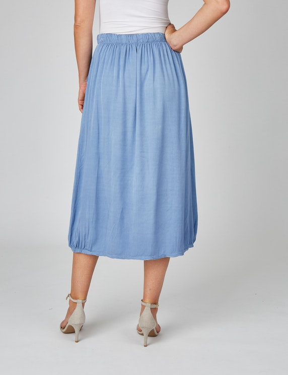 Bexleys woman Sommerrock aus reiner Viskose | [ADLER Mode]