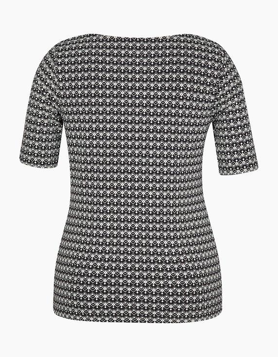Bexleys woman gemustertes Shirt aus Pima Cotton   [ADLER Mode]