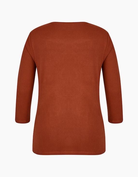 Roses & Angels Shirt mit 3/4-Arm und Strassbesatz | [ADLER Mode]