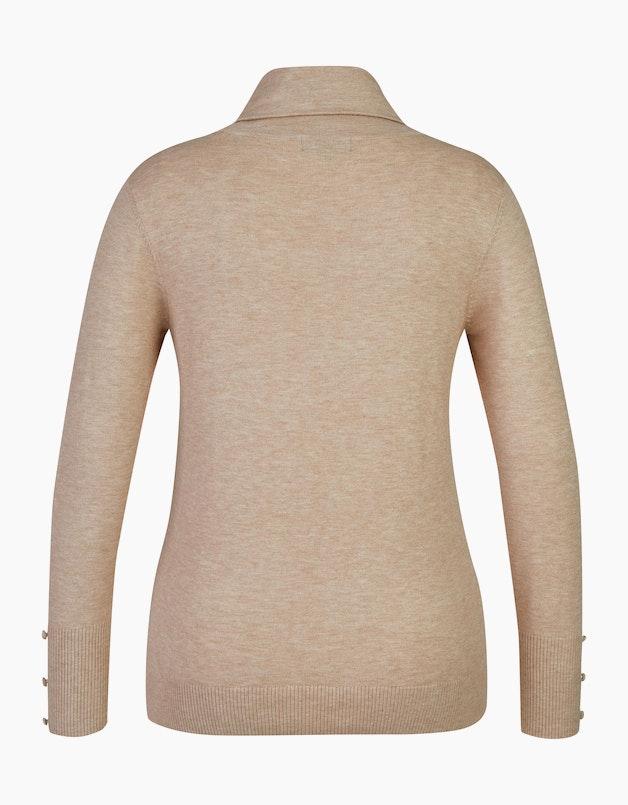 Rollkragenpullover mit Zierknöpfen in  - BEXLEYS WOMAN articleID: 11065 colorID: 12752