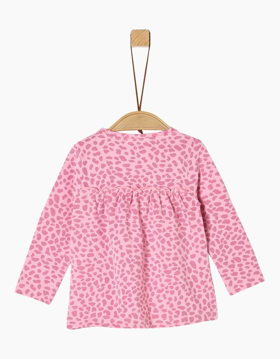 s.Oliver Baby Girls Langarmshirt mit Animal-Print | [ADLER Mode]