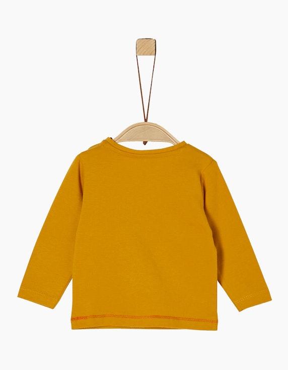 s.Oliver Baby Boys Langarmshirt mit Motiv-Print   [ADLER Mode]