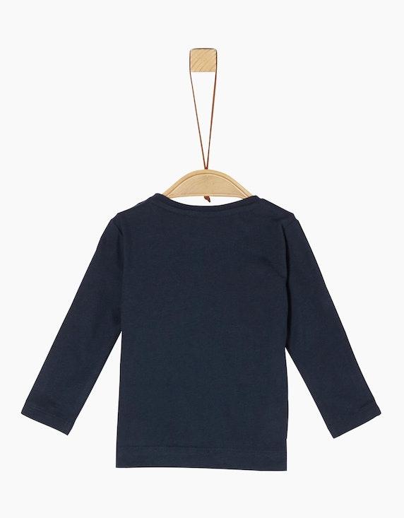 s.Oliver Baby Boys Shirt mit beweglicher Applikation   [ADLER Mode]