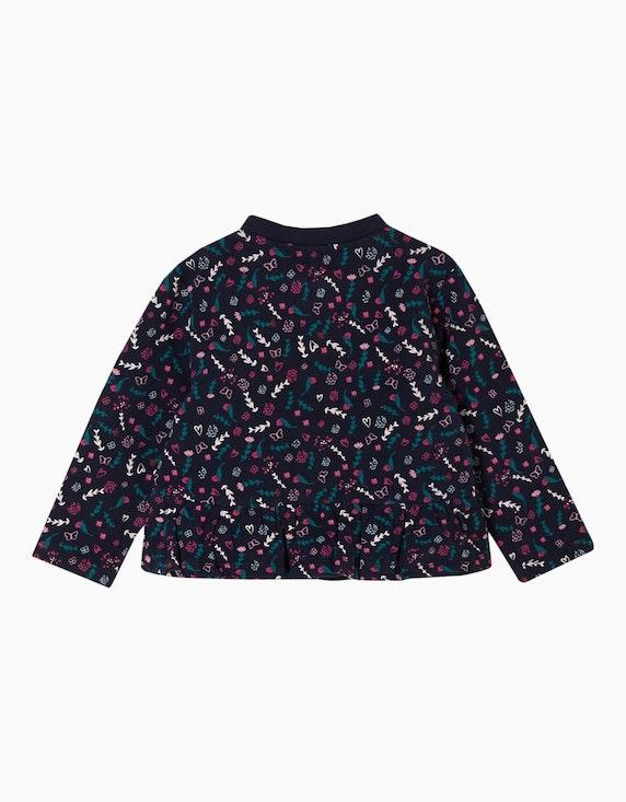 s.Oliver Baby Girls Sweatjacke mit floralem Print   [ADLER Mode]