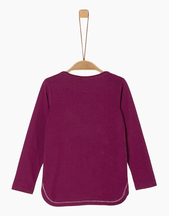 s.Oliver Mini Girls Langarmshirt mit Pailletten | [ADLER Mode]