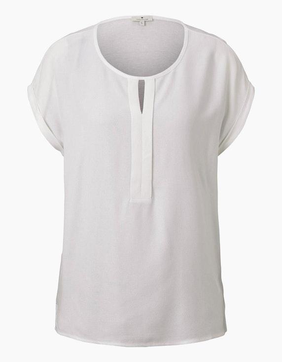 Tom Tailor Shirt aus Chiffon | [ADLER Mode]