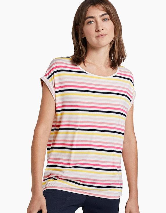 Tom Tailor T-Shirt in sommerlichem Design | [ADLER Mode]