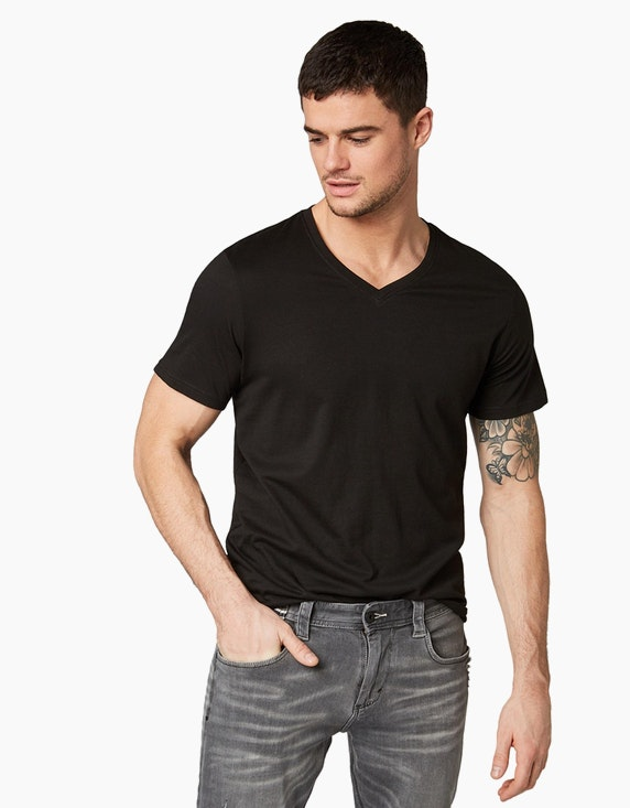 Tom Tailor Basic T-Shirt | [ADLER Mode]