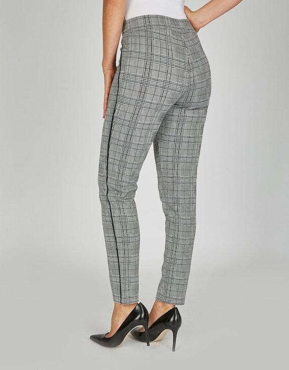 Bexleys woman Jerseyhose im Karo-Dessin | [ADLER Mode]