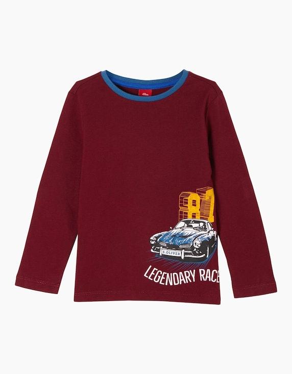 s.Oliver Mini Boys Jerseyshirt mit Auto-Print | [ADLER Mode]