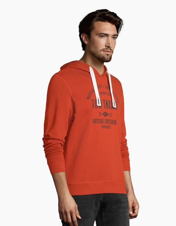 Tom Tailor Sweatshirt mit Kapuze | [ADLER Mode]