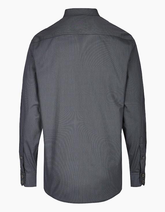 Bernd Berger Streifenhemd mit paspelierter Brusttasche, MODERN FIT | [ADLER Mode]