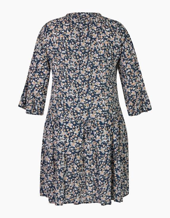 Made in Italy Stufenkleid mit Millefleurs-Muster   [ADLER Mode]