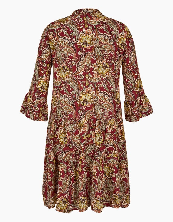 Made in Italy Stufenkleid mit Paisley-Muster   [ADLER Mode]