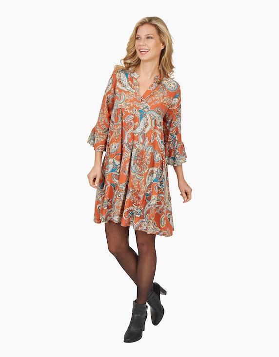 Made in Italy Stufenkleid im Paisley-Design   [ADLER Mode]