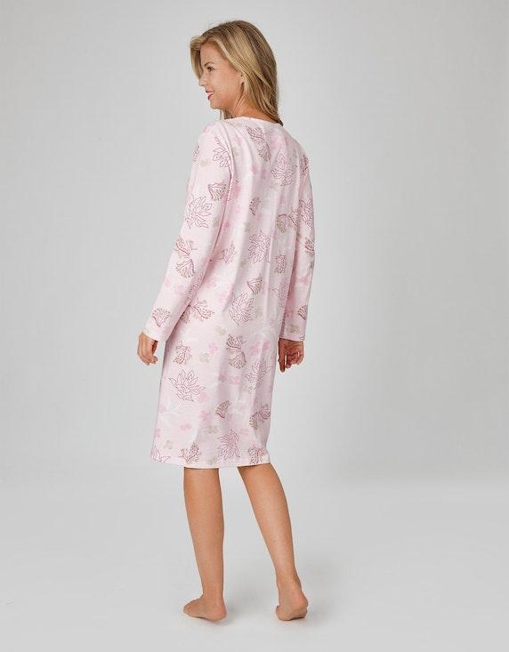 Malva Nachthemd mit floralem Druck | [ADLER Mode]