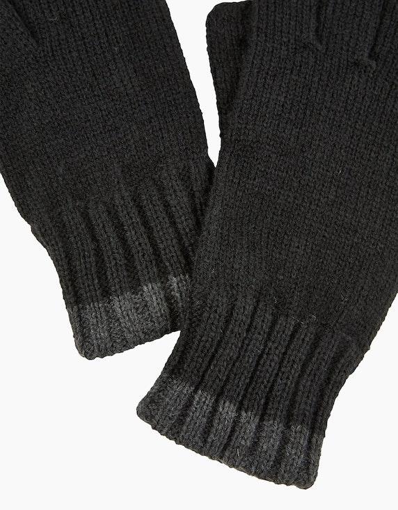 Bexleys man Strickhandschuhe mit Rippbündchen | [ADLER Mode]