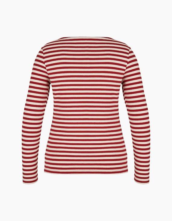 Bexleys woman Basic Langarmshirt aus Organic Cotton | [ADLER Mode]