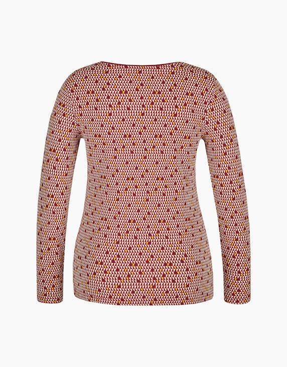 Bexleys woman Langarmshirt mit ganzflächigem Druck | [ADLER Mode]