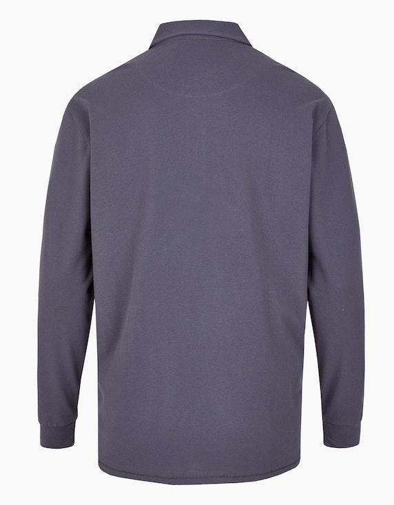 Big Fashion Poloshirt mit langen Ärmeln | [ADLER Mode]