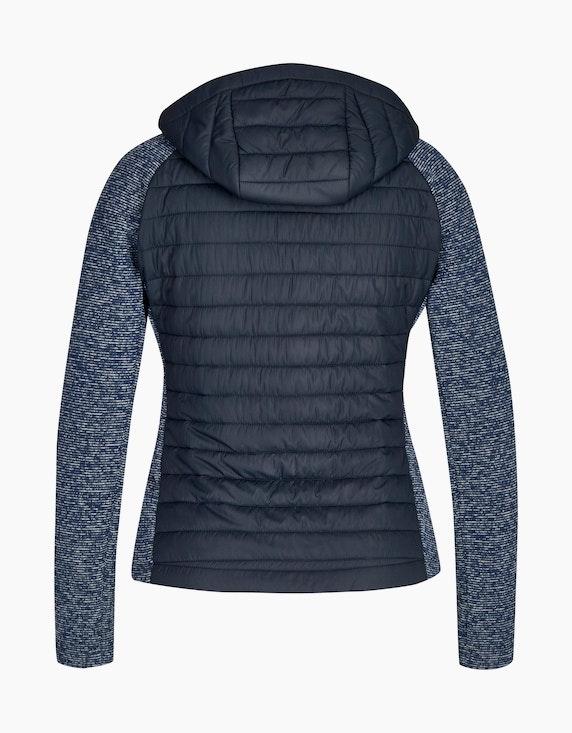 Eibsee Jacke im Materialmix aus Strick-Fleece und Stepp | [ADLER Mode]