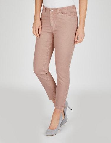 Hosen - Jeans mit Reißverschluss am Saum, 22  - Onlineshop Adler